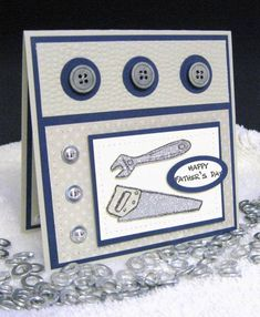 Totally Tool Father's Day by pam124 - Cards and Paper Crafts at Splitcoaststampers