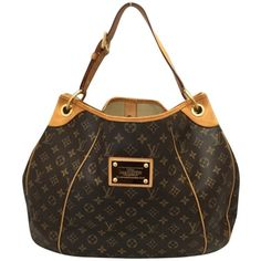 Pre-owned Louis Vuitton Galliera Gm Monogram Hobo Bag ($1,149) ❤ liked on Polyvore featuring bags, handbags, shoulder bags, none, leather hobo shoulder bag, leather shoulder handbags, genuine leather handbags, leather handbags and leather hobo handbags