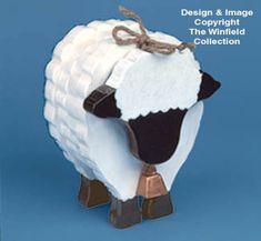 Layered Sheep Woodcraft Pattern