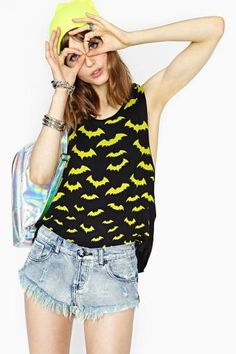 Going Batty Muscle Tee