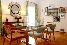 Adding Color Without Painting colourful drapes are a great option