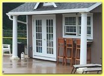 pool shed idea