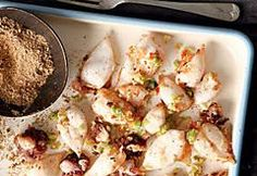 Rich and creamy, ready-in-an-hour chicken thighs can be served with cauliflower rice or roasted veggies. Creamy Chicken, Lemon Chicken, Marsala Mushrooms, Easy Weekday Meals, Calamari, Chicken Bacon, Spice Mixes, Cauliflower Rice, Roast