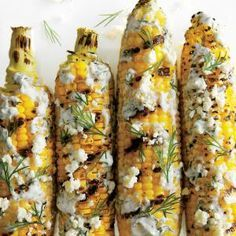Grilled and Dilled Corn on the Cob | MyRecipes.com