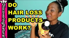 Do HAIR LOSS Products REALLY WORK? | My SHOCKING Natural Hair Experience