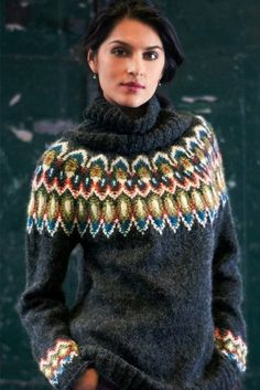 Items similar to Tolly Adler Icelandic Sweater Top Gift Lopi Wool Jumper Norwegian Sweater Hand knit Pull on Etsy Fair Isle Knitting Patterns, Knit Patterns, Icelandic Sweaters, Vogue Knitting, Knitting Yarn, Free Knitting, Knitting Magazine, Sweater Set, Sweater Cardigan
