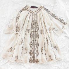 Antik Batik little girls dress via Thumbeline