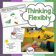 Social Skills: Thinking Flexibly by Speech Paths Social Skills Activities, Work Activities, Teaching Kindness, Social Behavior, How To Improve Relationship, Social Awareness, Social Thinking, School Psychology, Feelings And Emotions
