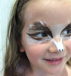 Owl face paint | Growing Spaces More