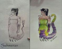 Şahmeran (Queen of serpents)