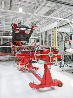 Tesla's high-tech factory is being updated to prepare it for the Model X