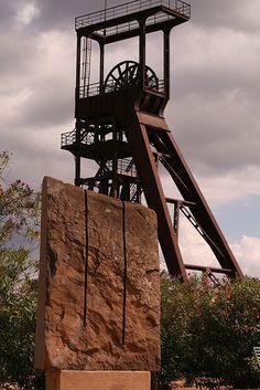 Grande Miniera di Serbariu, Carbonia CI #minieraserbariu #InvasioniDigitali: 25/04/2013 ore 11:30 e 16:00 Invasore: MuseodelCarbone