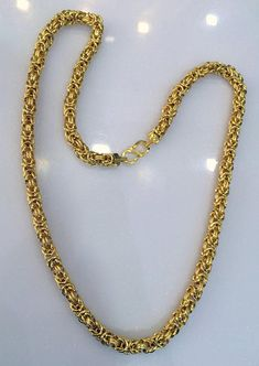 Gold Chains For Men Gold Chain 22 K Gold Link Chain Fine jewelry Necklace - Mens Gold Jewelry, Gold Jewelry Simple, Fine Jewelry, Gold Jewellery, Jewellery Making, Quartz Jewelry, Designer Jewellery, Silver Jewelry, Jewelry Stand