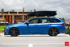 image of BMW 328i xDrive Touring With Vossen Wheels 2 750x500