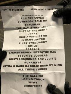 28-02-2018 Ziggo Dome, Amsterdam [Paesi Bassi]