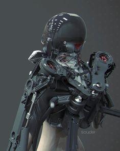 Nuthin' But Mech Site B: :: Riot Suit ::