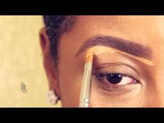 How to makeup for black women beginners wit easy steps