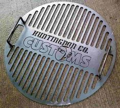 Here are some pretty cool custom grill grates from Huntingdon County Customs. I think I will put them on my list for Santa. I wonder if they have licensing for college logos?