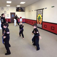 Best way to start the morning w/kempo and awesome students!