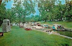 Canal in Bobcaygeon 1965