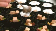Royale de petits pois, foie gras et émulsion au lard paysan