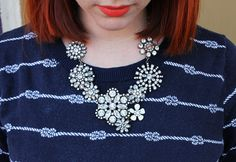 #statement necklace