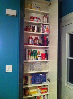 how to organize a kitchen cabinets diy organizers on 8764