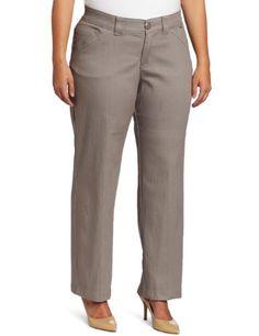 Lee Women's Plus-Size Midrise Vivian Trouser « PantsAdd.com – Every Size for Every Body