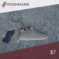 bcc0f753 Yeezy Boost 350 V1 Tan Shoe Keychain •Item is 2D and one sided, reverse