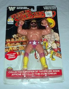 Some toys you can find in Flea Markets, Garage Sales or other places you should absolutely know will sell for a high price. Wwf Superstars, Wrestling Superstars, Childhood Toys, Childhood Memories, Wwf Toys, 1990s Toys, 1980s Kids, Weird Toys, Wrestling