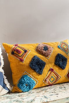 Mustard Handloom Cushion Cover                      – Ian Snow Ltd Front Room Furnishings, Soft Furnishings, Decorative Cushions, Health And Safety, Mustard, Throw Pillows, Cover, Health Insurance, Attic
