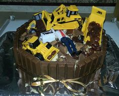 9 Best Bulldozer Cake Ideas Images Birthday Cakes Truck Birthday