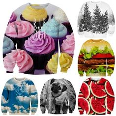 New Fashion Women Military Skull/Ice Zombie pullovers Funny 3d Hoodies Swatshirts for men palm/RIP DIET/Strawberry sweaters Top
