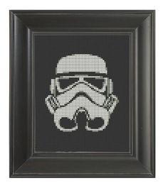 Pattern Funny Cross Stitch Storm Trooper Star Wars George Lucas Darth Vader Luke I'm Your Father Humorous Subversive DIY PDF Original. $5.00, via Etsy.
