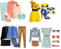 Сочетание цвета в одежде | Детские мечты Color Combinations For Clothes, Color Psychology, Polyvore, How To Wear, Image, Dresses, Fashion, Vestidos, Moda