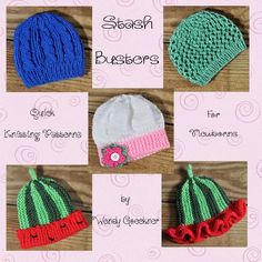 4 Stashbusting Infant Hats