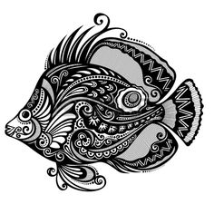 Fish  Patterned design