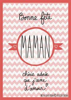Bonne fête maman!!!
