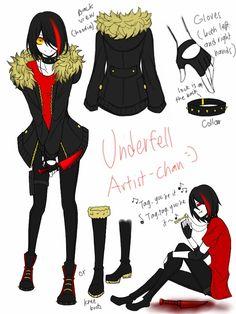 Special Unlock: Underfell Artist-chan by CNeko-chan