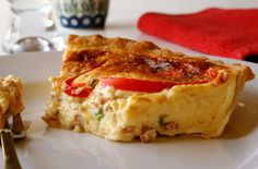 Crustless Ham And Cheese Quiche Recipe - Food.com