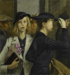 Raphael Soyer, Office Girls, 1936