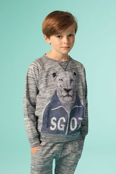 Silas Sweater Workout Lion - Soft Gallery