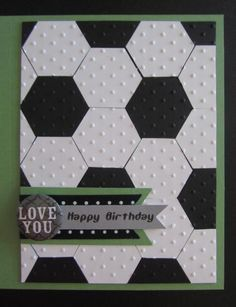 stampin up hexagon embossing folder - Google Search
