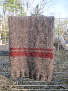BIG Bulky Blanket.  Romney Ridge Farm .... she has great kits for this.  Check them out on FB.