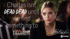 "S6 Ep5 ""She's No Angel"" - The new definition of ""dead"" by Rosewood standards. #PLL"