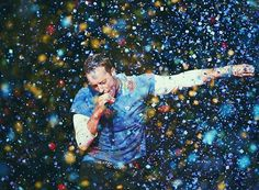 This is art #Coldplay #ChrisMartin #AHFODTour #AHFOD #AHeadFullOfDreams
