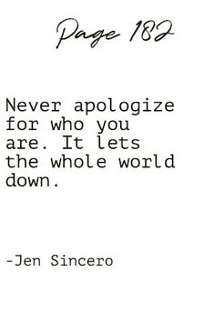 15 Inspirational Quotes from You Are A Bad*ss by Jen Sincero – Millennials Refined Wall Quotes, Book Quotes, Quote Of The Day, This Is Me Quotes, Simple Quotes, Lifestyle Quotes, Beautiful Words, Beautiful Mind, You Are Worthy