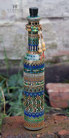 "Декоративная бутылка ""Africana"" #pointtopoint"
