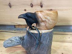Wood Carving Patterns, Wood Carving Art, Wood Art, Scandinavian Mugs, Art Sculpture En Bois, Kuksa Cup, Bushcraft, Hand Craft Work, Carved Spoons