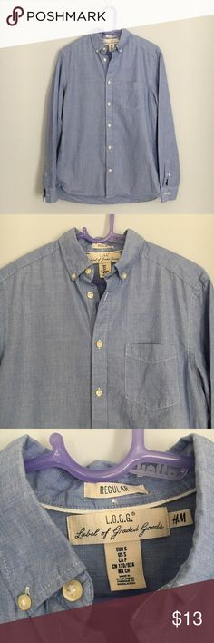 MEN'S H&M Button Down Regular style. Size small. Great condition H&M Shirts Casual Button Down Shirts